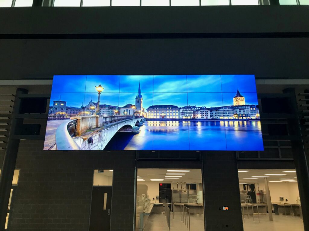 Corporate Facility With Custom Video Wall & Control