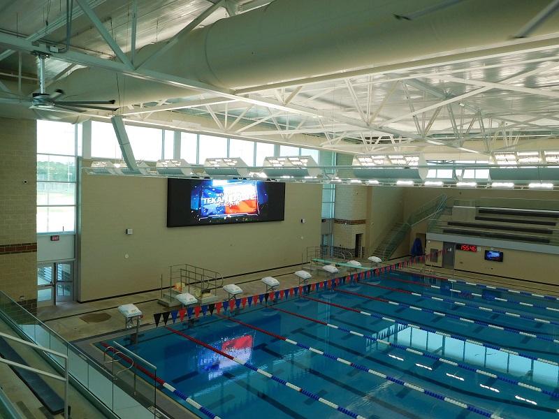 Educational Aquatic Training Facility Video Wall, Control, & Audio